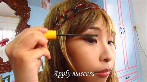 japanese makeup tutorial natural look japanese gyaru makeup tutorial natural look youtube