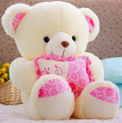 plush toys 29 5 inch lovely hold pillow teddy bear doll