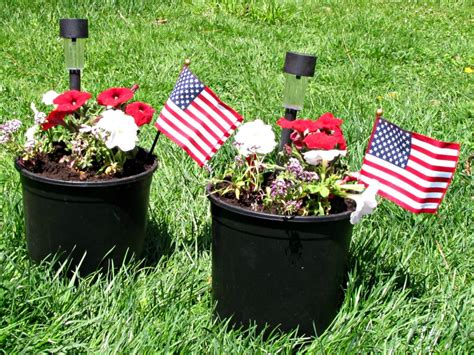 Cemetery Planters by Memorial Day Flowers For The Cemetery Frugal Upstate