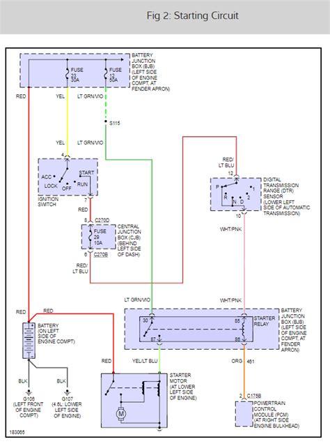 ford explorer ignition wiring diagram wiring diagram