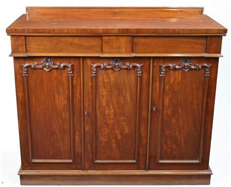 Victorian Mahogany 3 Door Cabinet Sideboard 254984 Mahogany Cabinet Doors