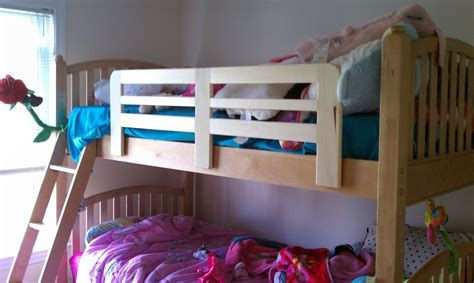 Bunk Bed Side Rails Bunk Bed Side Rail Easy Project By Echofive