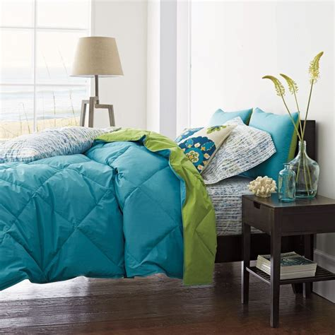 sham and comforter st tropez 174 reversible solid tcs 174 down and tcs 174 down free