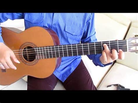 tutorial fingerstyle tetap dalam jiwa belajar kunci gitar isyana sarasvati tetap dalam jiwa