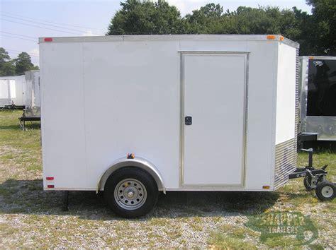 trailer white 6x10 sa trailer white r side door h stab