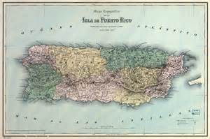 Puerto Rico Map Images by Puerto Rico Map 1886 La Chuleta Congel 193
