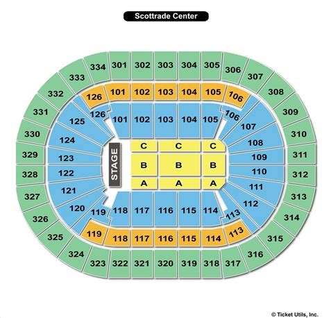 scottrade center seating rows scottrade center seating chart for pbr brokeasshome