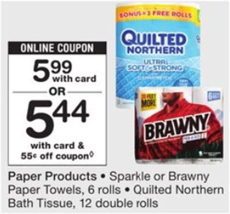 Quilted Northern Bath Tissue Coupons by New Quilted Northern Bath Tissue Coupon Walgreens Deal