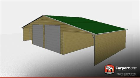 building with storage 46 x 26 vertical roof storage building with lean tos
