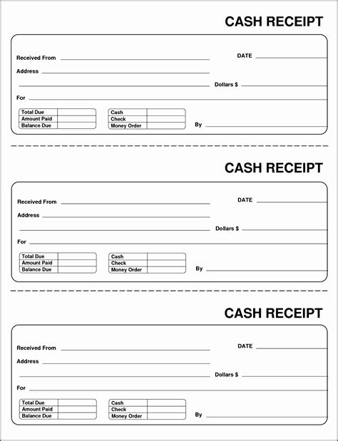 40 payment receipt templates free sample example format download