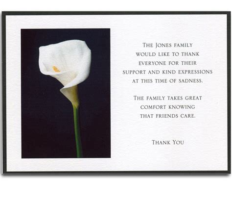 thank you card funeral template free funeral thank you cards anouk invitations