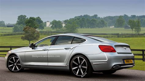 bentley coupe 4 door bentley four door coupe comes alive in latest renderings
