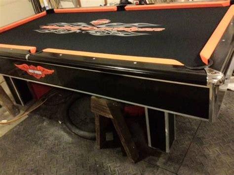 custom harley davidson pool table for sale in washington