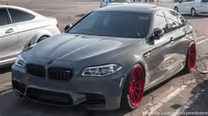 modified bmw m5 leaving supercar sunday