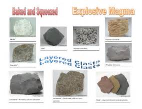 types of rocks ype of rock more information