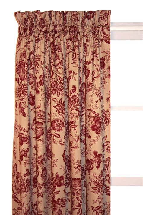 Country Cabin Curtains Palmer Toile Country Curtain Panel 54 Quot Black Rustic Cottage Cabin