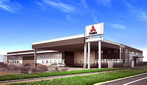 mitsubishi motors service center 三菱ふそう 東海ふそう 飛島サービスセンター を新設 motor cars