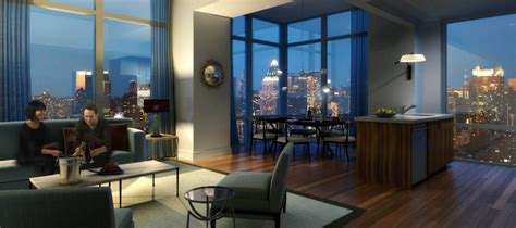 new york city appartment deluxe 2br at silver towers