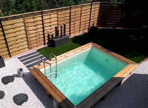 mini piscine hors sol bois 3405 15 id 233 es pour int 233 grer une mini piscine dans votre jardin