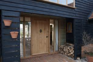 Barn Entry Door Orlestone Oak Flooring Joinery And Projects Oak Windows And Front Door In Kent Barn Conversion