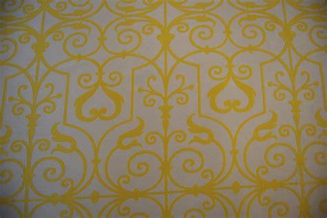 yellow trellis fabric trellis swirl lattice reversible yellow ivory