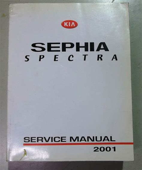 manual repair autos 2001 kia sephia on board diagnostic system 2001 kia sephia spectra service repair manual oem ebay