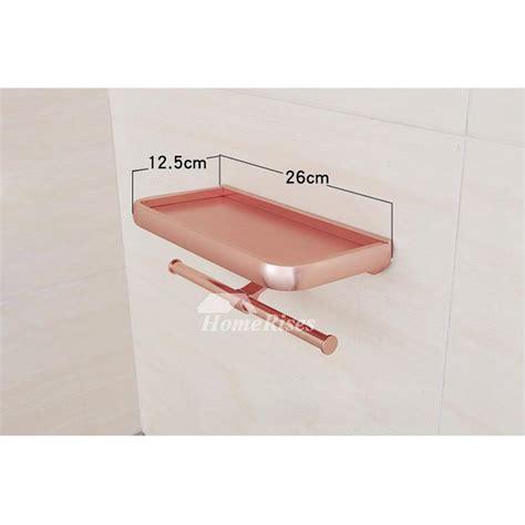 unique pink bathroom accessories sets aluminum wall mount