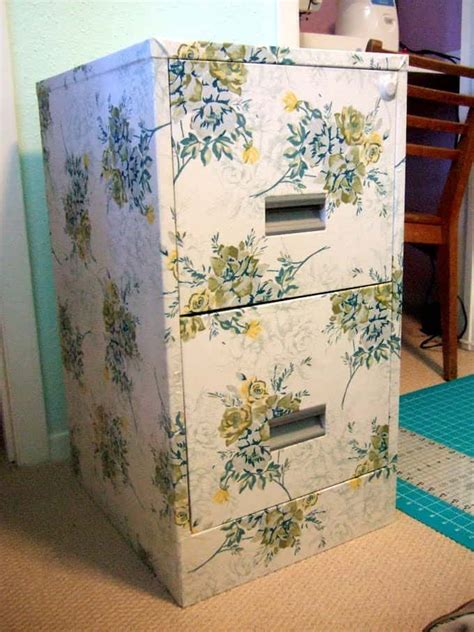 Decoupage Modge Podge - decoupage filing cabinet update mod podge rocks