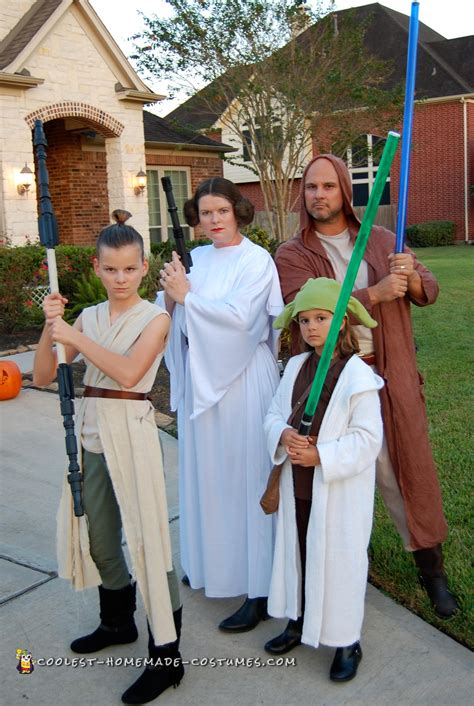 coolest diy family star wars costumes  halloween