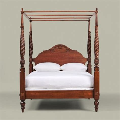 pineapple bed pineapple four poster ethan allen furniture and