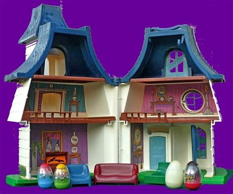 weebles haunted house weebles vintage haunted house playset with partial box