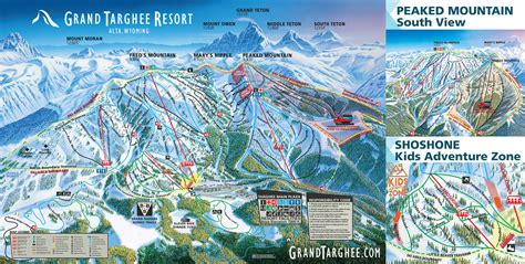 grand teton trail map grand targhee trail maps grand targhee resort