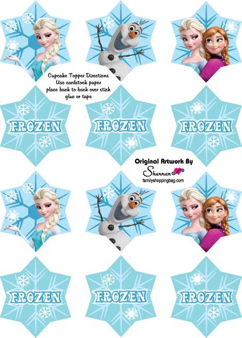 printable frozen designs 12 free frozen party printables invites decorations