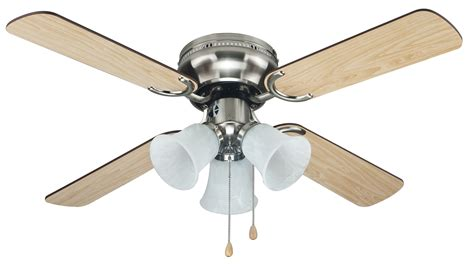 Ceiling Fan by Cool Eb52038 42in Brushed Nickel Ceiling Fan