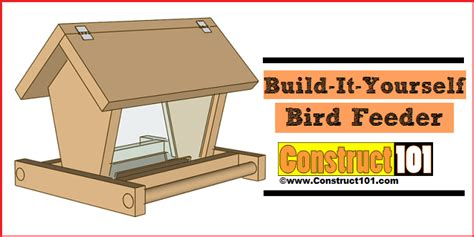 How To Make A Bird Out Of Construction Paper - build a bird feeder pdf construct101
