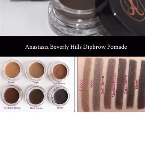 anastasia beauty hills dip brow pomade shade blonde 25 best ideas about anastasia beverly hills dipbrow on