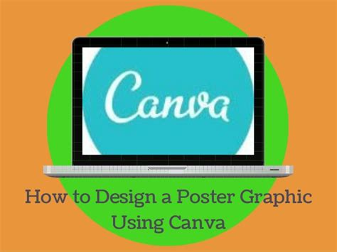 design poster canva how to design a poster using canva