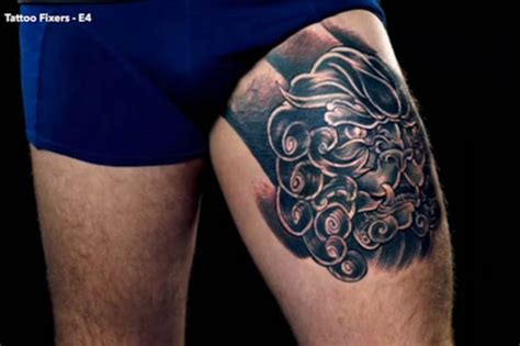 tattoo fixers e4 gallery tattoo fixers shock at man with penis tattoo dubbed the