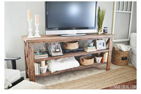 diy tv stands  hide ugly cable boxes  wires