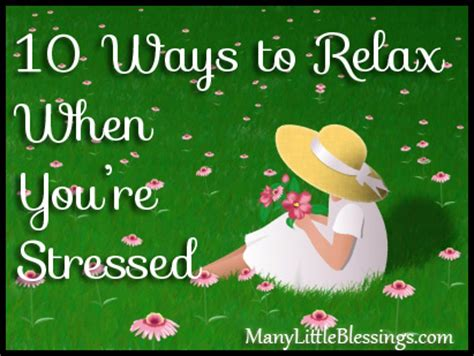 10 Best Ways To Relax by 10 Ways To Relax When You Re Stressed