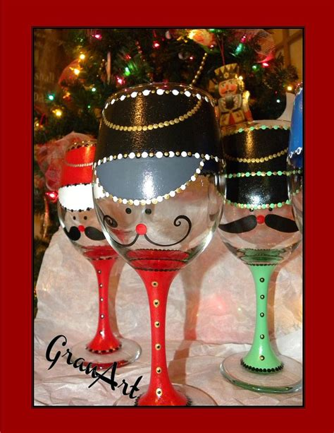 hometalk painted wine glass  granart