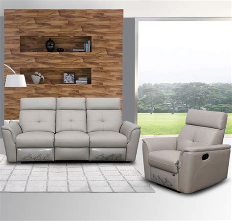 8501 contemporary contemporary reclining leather sofa