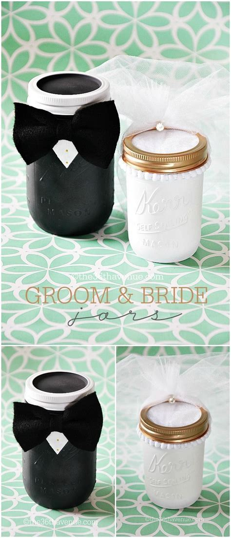Mason Jar Crafts   Groom & Bride   DIY: Craft Ideas
