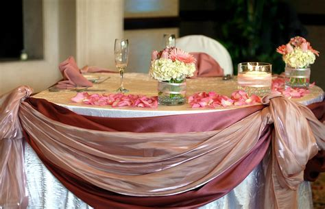 Wedding Table Setting Sample Photographs
