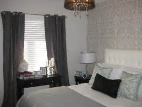 grey and white bedroom curtains gray grommet curtains contemporary bedroom wallpaper