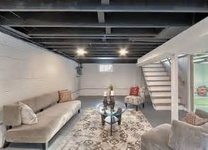 Diy Basement Ceiling Ideas Paint Basement Rafters Unfinished Basement Ideas 9 Affordable Tips Bob Vila