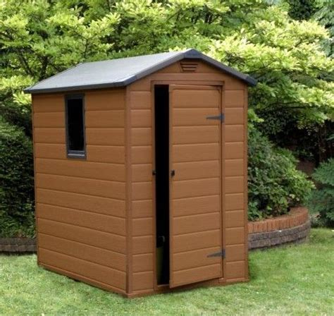 Sheds Marks Tey by Lawn Shed Doors Outdoor Trash Bin Sheds Blooma 8x6