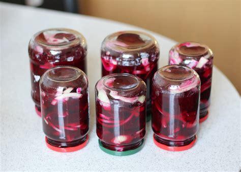 Einkochen Rote Beete 4611 by Rote Bete W 252 Rzig Einlegen Rezept 187 Majas Pflanzenblog