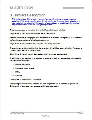 software business proposal template project proposals