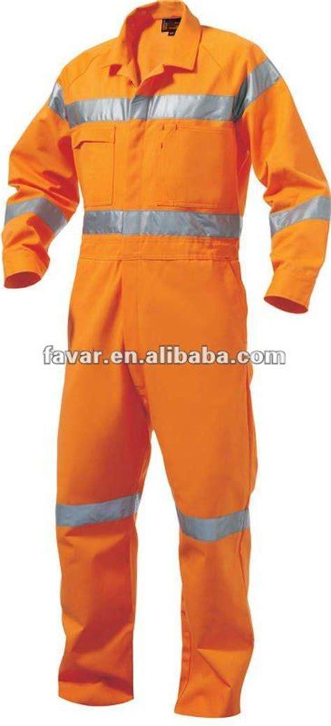 Wearpack 100 Cotton 100 Coverall Cotton Orange 100 cotton fluo orange retardant coveralls hi viz reflective summer coverall en471